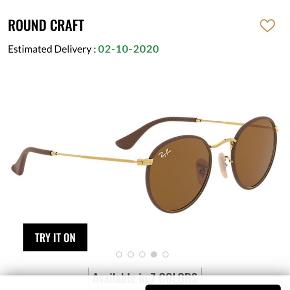 Rayban solbriller med brunt læder. De er købt i Australien og ikke brugt meget Byd gerne