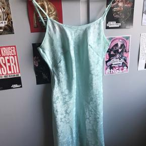 Vintage slip dress i silkelignende stof🧚
