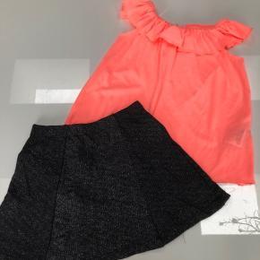 Str 110/116, Sælges samlet Nederdel med glimmer