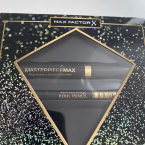 Max Factor Masterpiece Max gaveæske med mascara og kohl pencil.  Befinder sig på Amager. Sender ikke