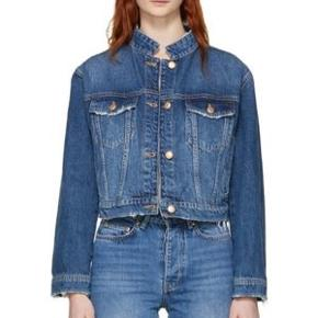 Fin , cropped denim jakke fra Won Hundred