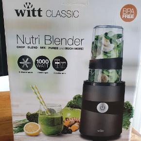 Witt CLASSIC Mutti Blender. Helt ny! 1000 watt  Se endvidere billeder