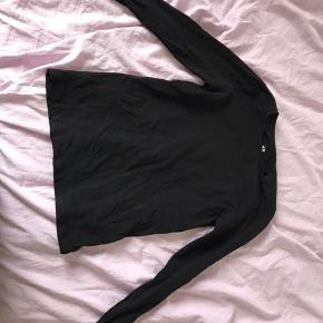 Basic sort trøje fra h&m