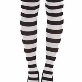 Cool Pamela Mann twickers tights i sort og hvid stribet. Stadig i indpakning og har aldrig været åbnet. Super seje til et frisk look i det kedelige efterår og vinter vejr.
