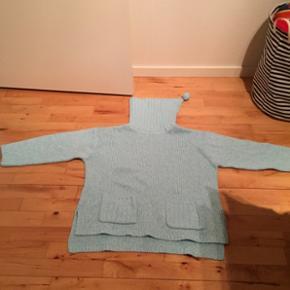 Dejlig lækker sweaters som varmer dejlig - str M turkis - kan sendes på købers regning
