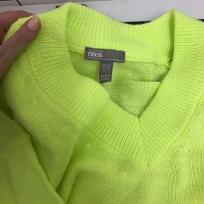 Neon grøn strik