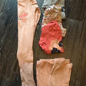 3 l/æ body, 2 leggings og 1 heldragt.
