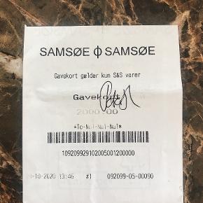 Samsøe & Samsøe tøj