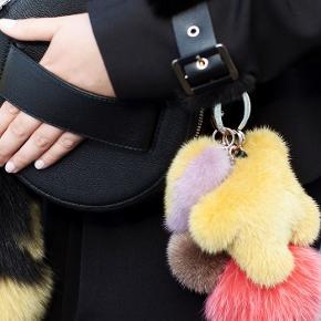 Søger Hugo charm/nøglering fra Kopenhagen fur i gul