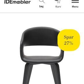 Fine stole fra ide møbler sælges, de har slid, men der følger sort læder tape med, 250 kr for 6 stk. Skal afhentes i høje Tåstrup