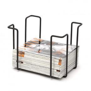 we design, sort magasinholder. Smukt enkelt dansk design. mål: 25x33x26 cm.