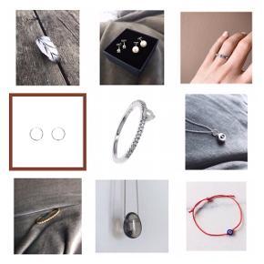 Forskellige smykker - bl.a.  fra Line & Jo, Maria Black, Pilgrim, Anna + Nina, Stine A, mm. Spørg gerne for yderligere information eller tag et kig på mine mange annoncer.
