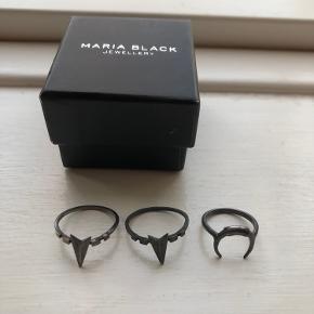 Fine Maria Black ringe sælges 🌸