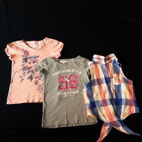 3 H&M bluser sælges samlet. Str 134-140 cm.