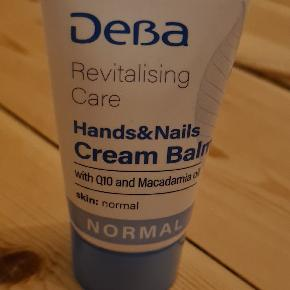 Rubella revitalising care, hands & nails cream balm, Q10 & macadamia oil, normal, 50 ml  ALDRIG brugt