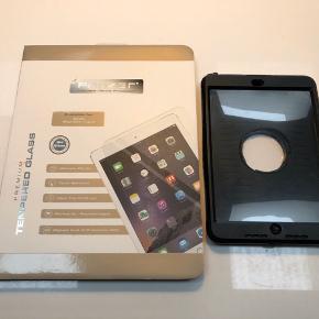 iPad mini  Panserglas til iPad mini, 50kr  Cover, Gmb, 50kr  Sendes ikke, Sønderris