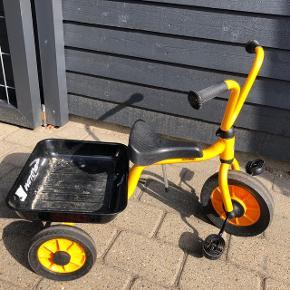 Gil 3 hjuletcykel med lad Brugt få gange