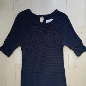 By Malene Birger  Sort strikkjole str. M Strikket kjole