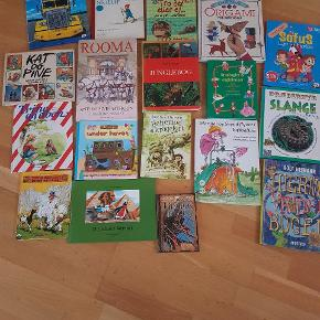 Blandet børnebøger   18 stk til mamge gode timer og snakke   sælges samlet for 150 kr  Afhentning på adressen i Hvidovre