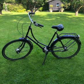 Fin retro dresco damecykel  Med godkendt lås og 3 gear