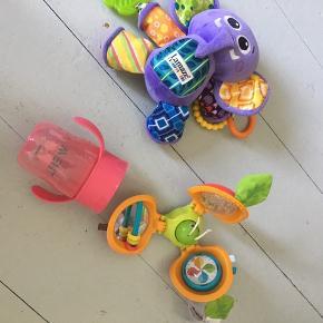 Lamaze og andet legetøj og drikkekop