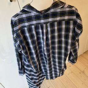 """Asymmetrisk skjorte (""""skjorte kjole"""")"""