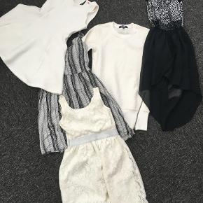 Tøjpakke med 5 flotte kjoler til piger på 8-10 år. Mærker bl.a. H&M, D-Xel m.fl.