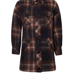 Freja jakke i sort og brun.  Brugt få gange.