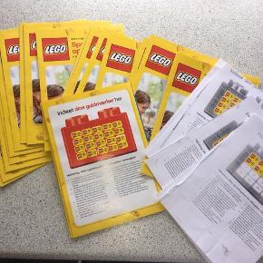 24 fyldte LEGO hæfter til Bilka / Føtex Indløses til og med d. 16. maj