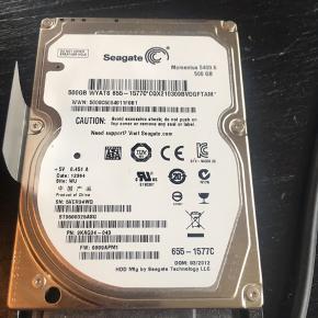 "Seagate 2.5"" Laptop Hard Drive 500gb SATA HDD for Apple Macbook Pro #655-1577C"