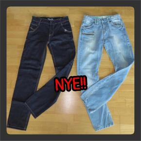 (B78) (fra venstre)  * KOIN jeans med regulerbar elastik str. 11/12 år - NYE, kun vasket - Indvendig ben ca. 75 cm  - Talje ca. 68 cm  * KOIN jeans med regulerbar elastik str. 11/12 år (twist) - NYE, kun vasket - Indvendig ben ca. 75 cm  - Talje ca. 68 cm  SÆLGES SAMLET TIL 335,-pp  *** SE OGSÅ MINE ANDRE ANNONCER ***