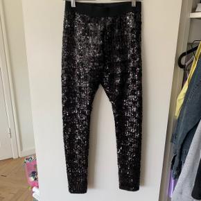Glimmer bukser / leggings fra Malene Birger