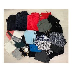 Tøjet sælges samlet til 100 kr  Størrelsen på det hele er small.