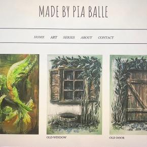 Hej! Min mor, Pia Kjeldsen Balle, sælger malerier i forskellige stilarter og tager også imod bestillinger! Prisen kan forhandles. Skriv for mere info eller flere billeder af andre af hendes malerier. Hvis bestillinger ønskes, kontakt på 28113663