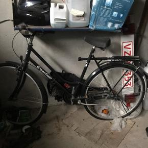 Greenfield dame cykel . Aldrig brugt .