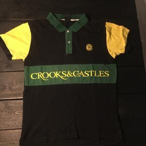 Crooks & Castles polo. Brugt men i virkelig god stand