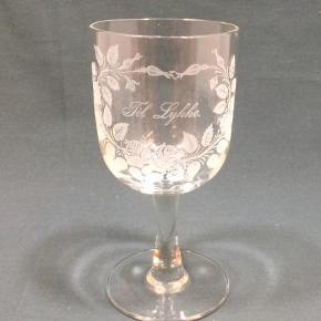 About Vintage glas