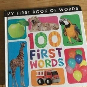 100 first Words -fast pris -køb 4 annoncer og den billigste er gratis - kan afhentes på Mimersgade 111 - sender gerne hvis du betaler Porto - mødes ikke andre steder - bytter ikke