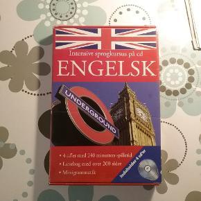 Engelsk kursus og grammatikbogRigtig godt.