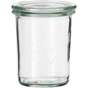 WECK glas m. låg, helt nyt  160ml.  Rabat ved køb af 12 stk.  Pakning, så det bliver tætsluttende (billede 3) kan tilkøbes for 5 kr. Forskellige størrelse haves.