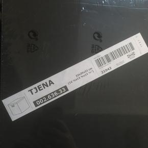 Sort kasse fra IKEA til opbevaring og lign. Se mål og form på billedet. Stadig indpakket. Hentes gratis. Vesterbro, København