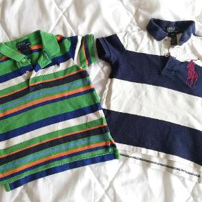 To flotte polo t-shirt sælges, i god men brugt stand, uden pletter eller huller.  Prisen er for begge 😊