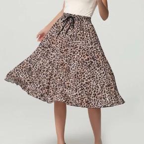 leopard nederdel