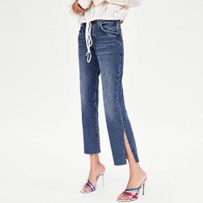 Fedeste bukser med slids. Passer også en 38, sælges for 100 pp (38 kr)🦋🤗