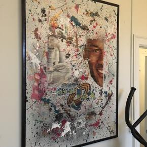Space Jam, Michael Jordan, unikt maleri med størrelsen 100x140 cm 🏀🏀🏀