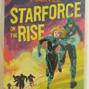 Marvel, CAPTAIN MARVEL Starforce: On the Rise af Steve Behling, Engelsk. kun pakket ud, aldrig før læst eller bladret gennem.