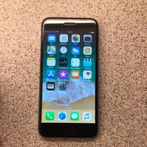 IPhone 6 Space Grey, 64 GB,Har altid haft panserglas på og har altid været i cover.