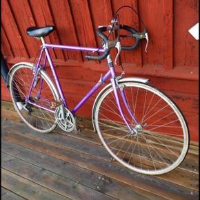 Classic Vintage Racer Bike,  12 gear og friløb, nye dæk Passende til højde: 165-185