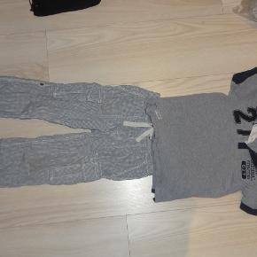 H&M bukser og Name it bluse str 110