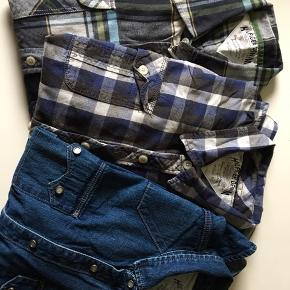 Skjorter, 50,- pr stk. Sælges samlet for 100,- Sender pp